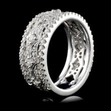 18K White Gold 1.03ct Diamond Ring