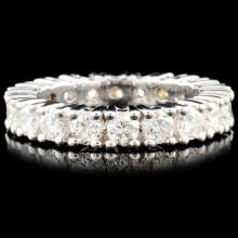 18K Gold 2.50ctw Diamond Eternity Ring
