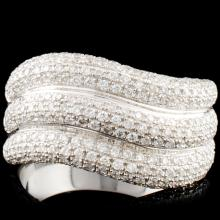18K Gold 0.94ctw Diamond Ring