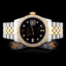 Rolex DateJust 1.00ct Diamond Gent's Watch