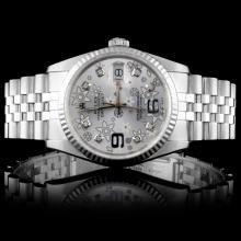Rolex Stainless Steel DateJust Wristwatch
