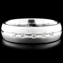 14K Gold 0.10ctw Diamond Ring