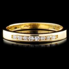 14K Gold 0.14ctw Diamond Ring