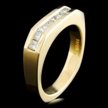 14K Gold 0.94ctw Diamond Ring