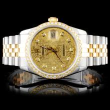 Rolex DateJust 1.00ct Diamond Watch