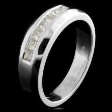 14K Gold 0.59ctw Diamond Ring