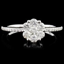 14K Gold 0.60ctw Diamond Ring