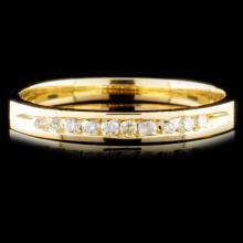 14K Gold 0.17ctw Diamond Ring