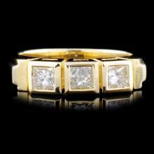 14K Gold 0.66ctw. Diamond Ring