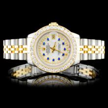 Rolex DateJust 1.50ctw Diamond Ladies Watch