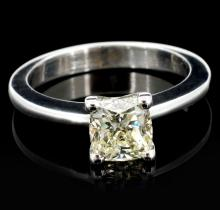 18K White Gold 1.21ct Diamond Solitaire Ring