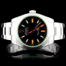 Rolex SS Milgauss Wristwatch