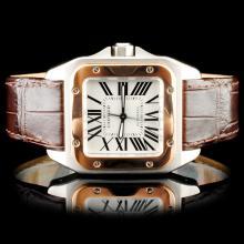 Cartier Santos 100 Wristwatch
