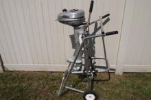 1940's Evinrude 2HP Short Shaft Outboard, Ran When Put Away