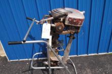 Vintage Johnson Outboard Motor H.P?