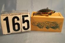 Carl Christiansen Hand Carved & Painted Fish Spearing Decoy