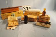 Lot of 6 Game Calls, Olt turkey call with box, Herters predator call with box, Rhodes turkey call with box, Herters rabbit flusher with box, herters Coon Call with box, Mallardtone Squirrel Call with box