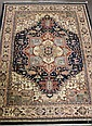 Fine Hand Made Persian Isfahan Wool Rug 8'10 X 11'8