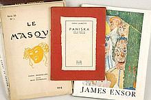 [ENSOR]LAMBOTTE, Emma - Paniska avec un dessin de James Ensor
