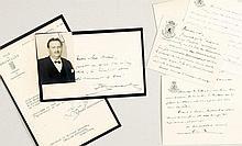 [BECKERS] - Correspondance au dr. René Beckers