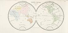 [ATLAS] - B[AILLEUL], J. C. - Bibliomappe ou Livre-cartes; leçons methodiques de chronologie et de géographie