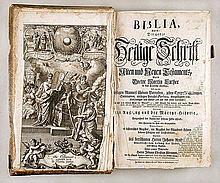 BIBLE - Biblia, das ist: die ganze Heilige Schrift Alten und Neuen Testaments, durch Doctor Martin Luther in das Deutsche übersesst