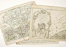 DE BOUGE, J.B. - Nouvelle carte chorographique des Pays Bas Autrichiens