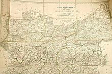 [OOST-VLAANDEREN] GÉRARD - Carte topographique de la Province de Flandre Orientale
