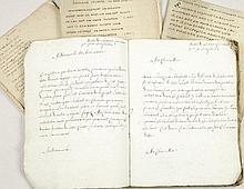 [HANDSCHRIFTEN] - Ce livre appartient à Marie Therese de Bare d'Audenarde, pensionnaire chez les Dames Ursulines à Valenciennes