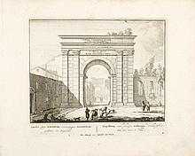 SCHENK, Petrus - [Roma Aeterna, Petri Schenkii ; sive ipsius Aedificiorum Romanorum integrorum collapsorumque conspectus duplex]