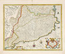 MERCATOR, Gerard - Cataloniae principatus descriptio nova