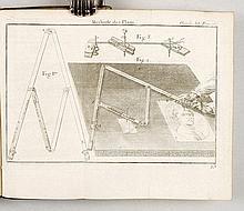 OZANAM, J.] - Methode de lever les plans et les cartes de terre et de mer avec toutes sortes d'instrumens & sans instrumens. Nouvelle édition