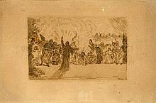 ENSOR, James - Le Christ aux mendiants - 1895