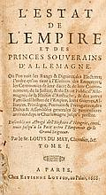 DU MAY, Louys - L'Estat de l'Empire et des princes souverains d'Allemagne
