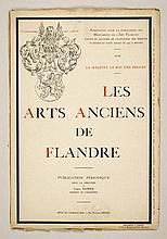 TULPINCK, Camille (éd.) - Les arts anciens de Flandre. Publication périodique sous la direction de Camille Tulpinck
