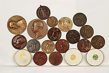 [MEDAILLES BRUGGE] Verzameling van 20 medailles o.a. 14 van het Heilig Bloed