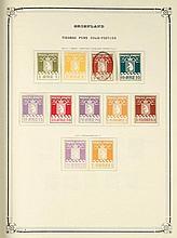 POSTZEGELS Verzameling Europese landen (Groenland, IJsland, Malta, Portugal, Maagdeneilanden)