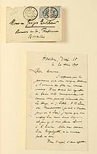 BUYSSE, Cyriel Correspondance à Georges Eekhoud