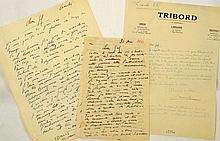 LABISSE, Félix Lettre autographe signée à Jef (De Vliegher)