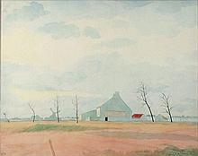 SPILLIAERT, Léon (1881-1946) Fermette dans les polders