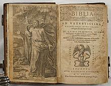 [BIBLE] Biblia ad vetustissima exemplaria nunc recens castigata, Romae que revisa...