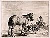 [STOOP, Dirk (1610-1691) Paarden, Dirck Stoop, €220