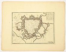 [ATLAS] FER, Nicolas de Le théâtre de la Guerre dans les Pays-Bas; représentation des principales villes qui sont en Flandres, Hainaut, Brabant &c.; avec leurs fortifications ... dont les Plans ont esté levez par Monsieur de Vauban