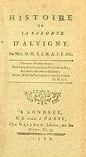 MÉRARD de SAINT-JUST, Anne-Jeanne-Félicité] (1765-1830) Histoire de la baronne d'Alvigny