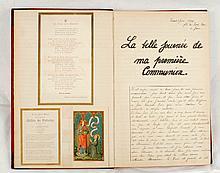 GILLES de PELICHY, Thérèse Cahier de souvenirs