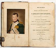 [NAPOLEON] - LABEDOYERE Memoirs of the public and private life of Napoleon Bonaparte with copious historical illustrations