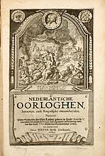 BOR CHRISTIAENSZ, Pieter Nederlantsche oorloghen, beroerten, ende borgerlijcke oneenicheyden, beginnende mette opdrachte [...] aen [...] Philippus van Spangien, tot de droevige doot van [...] Willem prince van Orangien.