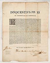 [AFLAAT] Innocentius PP. XI. ad perpetuam rei memoriam