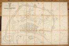 [ANTWERPEN] SCHEEPERS, Alouis Plan géométrique parcellaire et de nivellement de la ville d'Anvers et des communes limitrophes