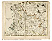 [FRANKRIJK] DE L'ISLE, Guillaume The Province of Artois and the Country adjacent